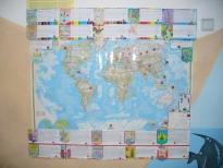 карта мира с новыми городами