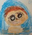 Скороходов Гриша, 6 лет, Мне 2 года, я весёленький, миленький, люблю со всеми играть, тема Я в прошлом, масляная пастель
