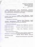 Приложение к Распоряжению об утверждении состава наблюдательного совета.