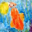 Маша Б. Цыплёнок разговаривает с солнышком