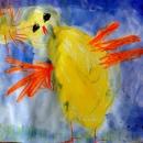 Маша М. Красивый цыплёнок