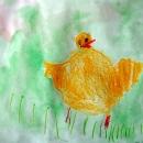 Ветта Цыплёнок играет с друзьями пока мама ушла на работу